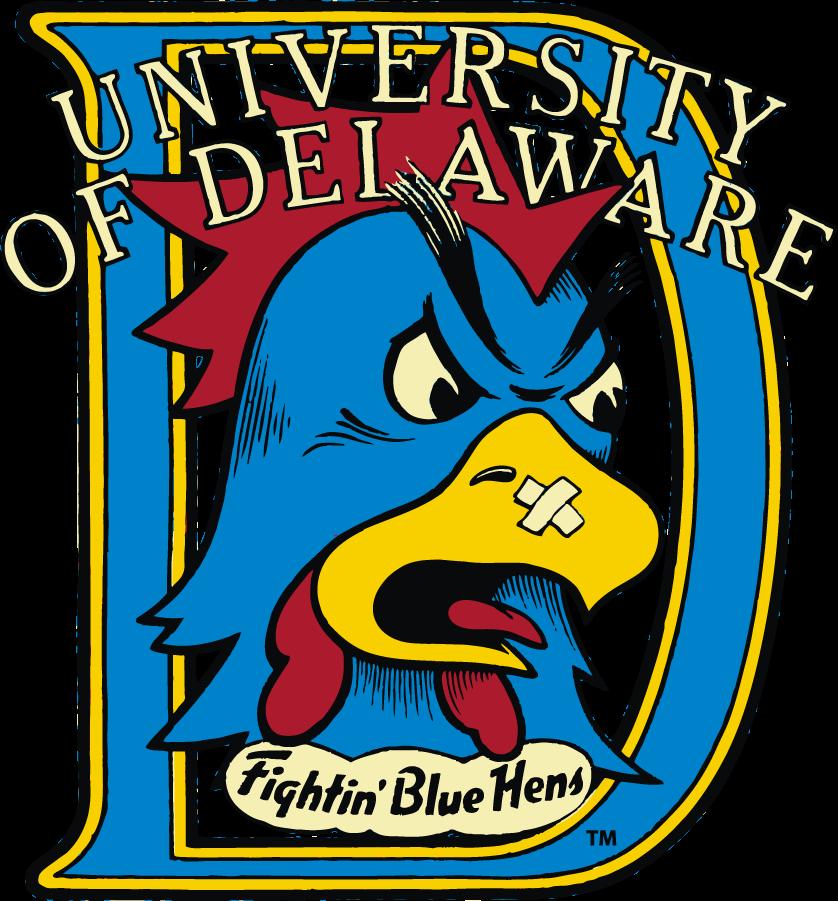 Delaware Blue Hens Logo Primary Logo (1987-1999) -  SportsLogos.Net