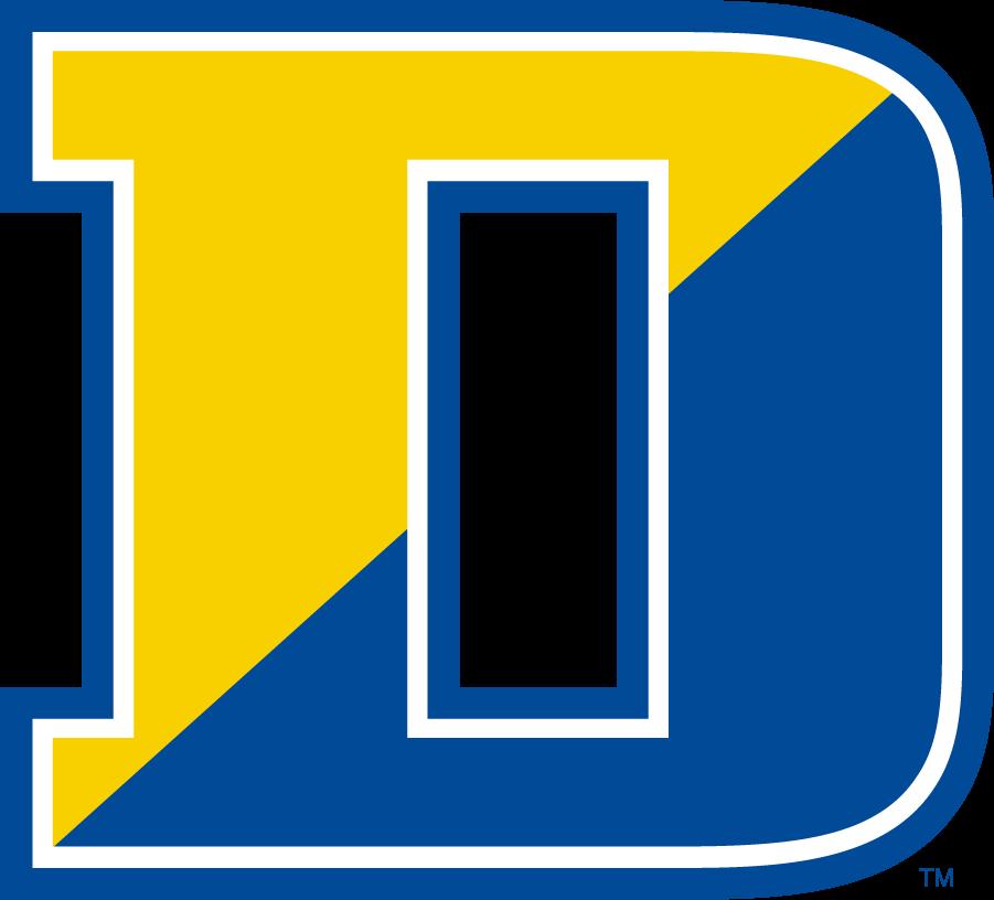 Delaware Blue Hens Logo Secondary Logo (2009-2018) - Split D SportsLogos.Net