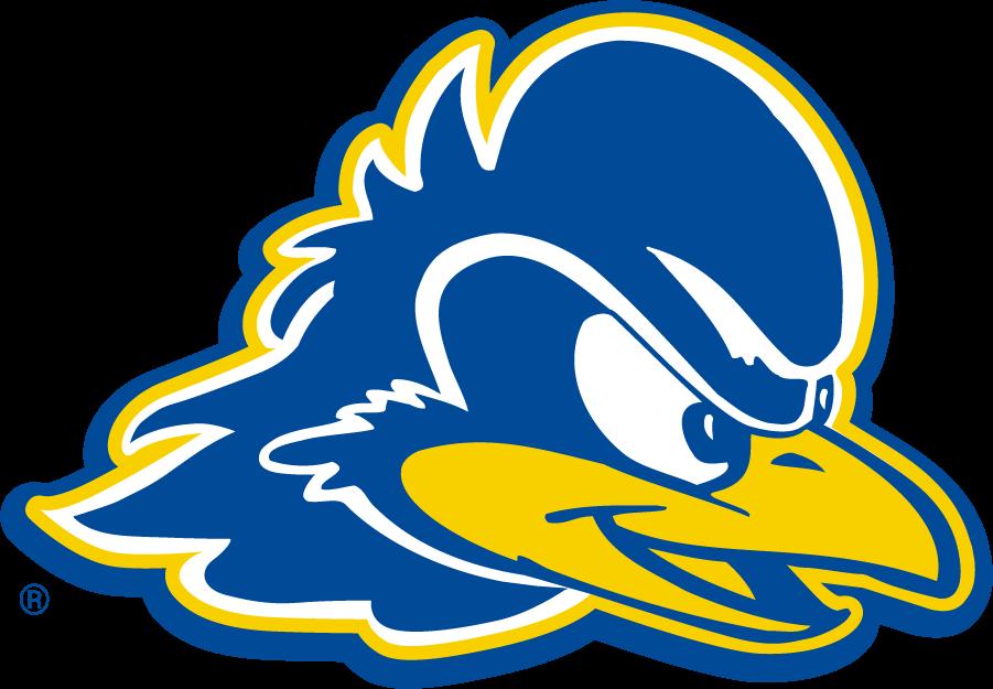 Delaware Blue Hens Logo Secondary Logo (2009-2018) - Blue hen head. SportsLogos.Net