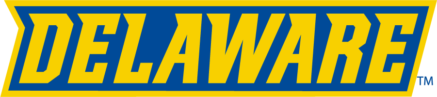 Delaware Blue Hens Logo Wordmark Logo (2018-Pres) - Delaware SportsLogos.Net