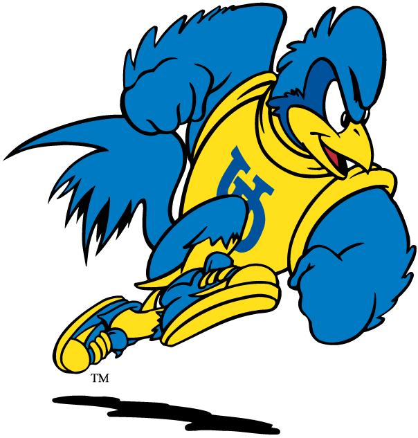 Delaware Blue Hens Logo Mascot Logo (1999-Pres) - Runnin' YoUDee mascot SportsLogos.Net