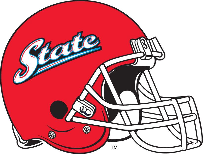 Delaware State Hornets Helmet Helmet (2005-Pres) - White