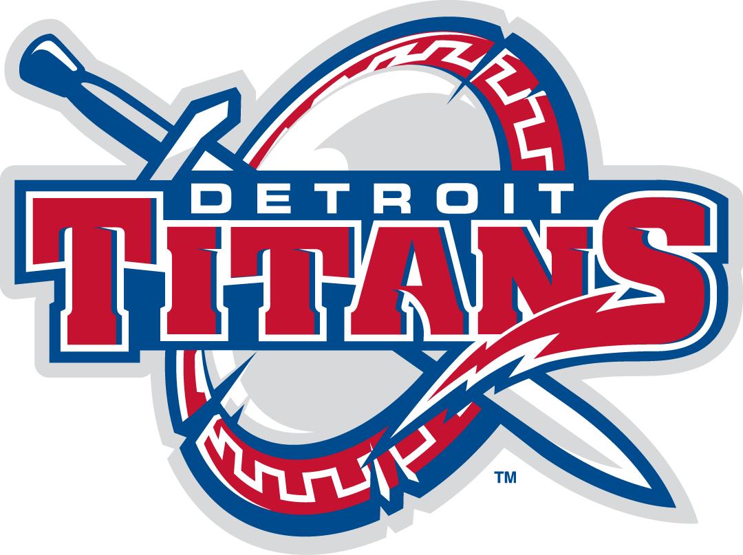 Detroit Titans Logo Primary Logo (2008-2015) -  SportsLogos.Net