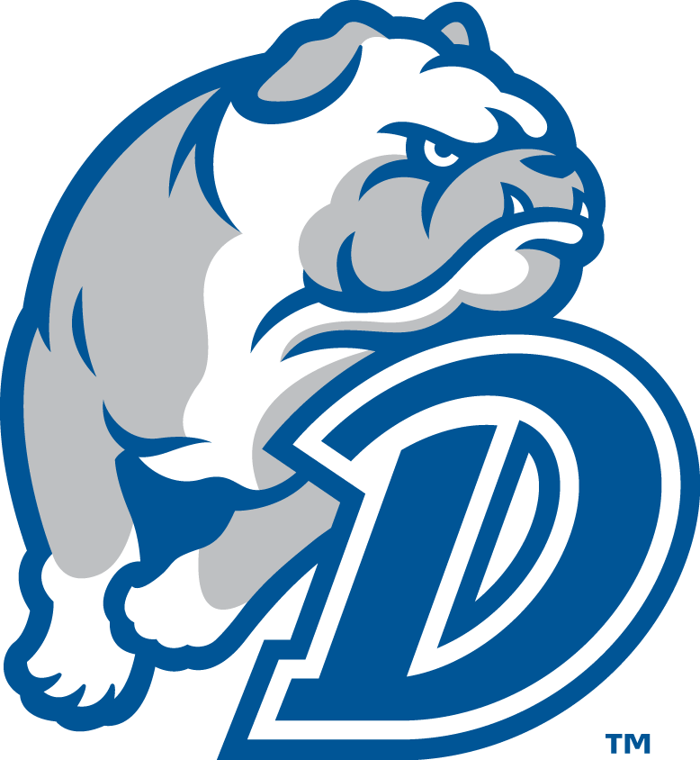 Drake Bulldogs Logo Secondary Logo (2015-Pres) -  SportsLogos.Net