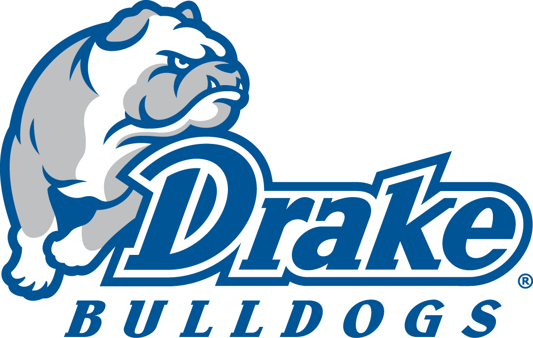 Drake Bulldogs Logo Primary Logo (2015-Pres) -  SportsLogos.Net