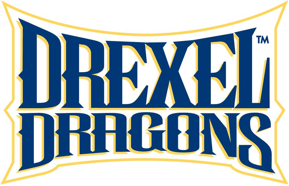 Drexel Dragons Logo Wordmark Logo (2002-Pres) -  SportsLogos.Net