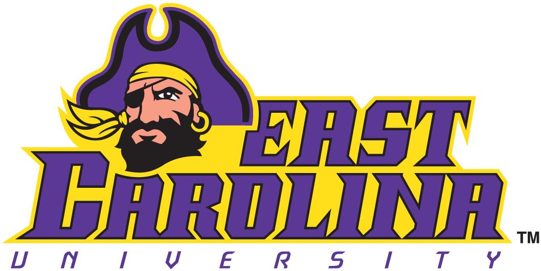 East Carolina Pirates Logo Wordmark Logo (1999-2013) -  SportsLogos.Net