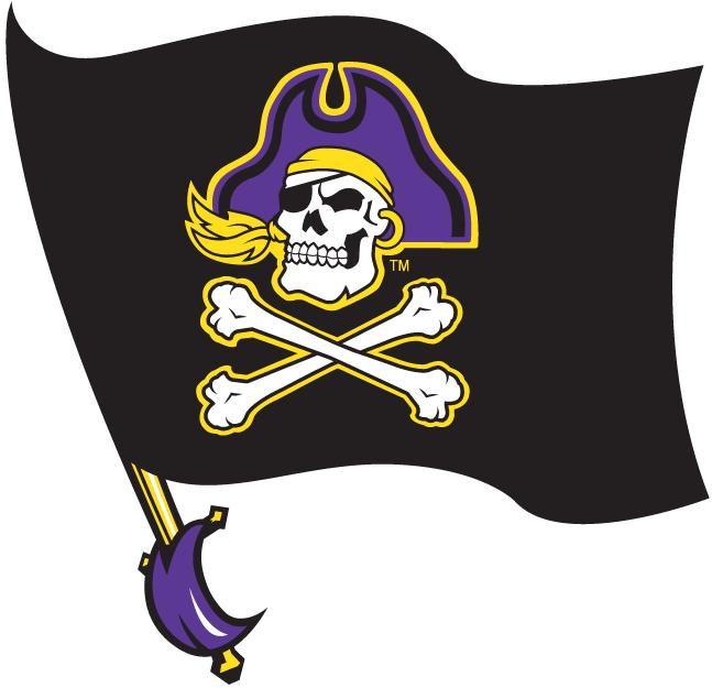 East Carolina Pirates Logo Alternate Logo (1999-2013) -  SportsLogos.Net