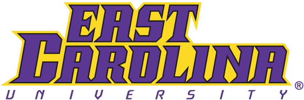 East Carolina Pirates Logo Wordmark Logo (1999-2013) -  SportsLogos.Net