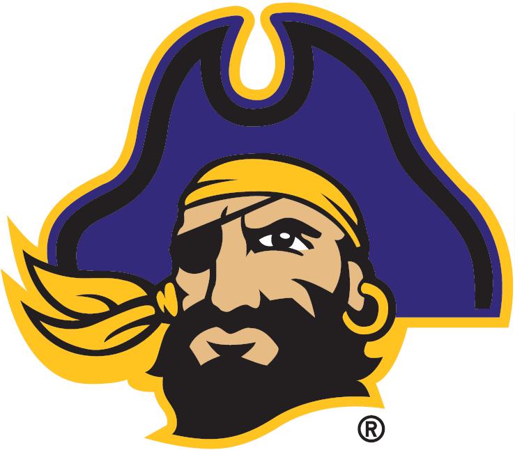 East Carolina Pirates Logo Secondary Logo (2014-Pres) -  SportsLogos.Net