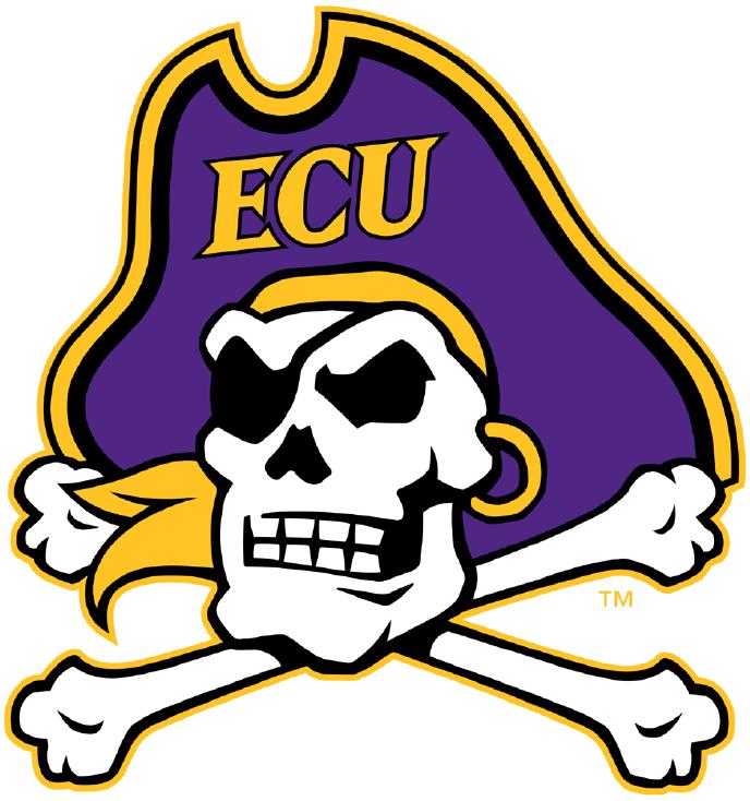 East Carolina Pirates Logo Primary Logo (2014-Pres) -  SportsLogos.Net