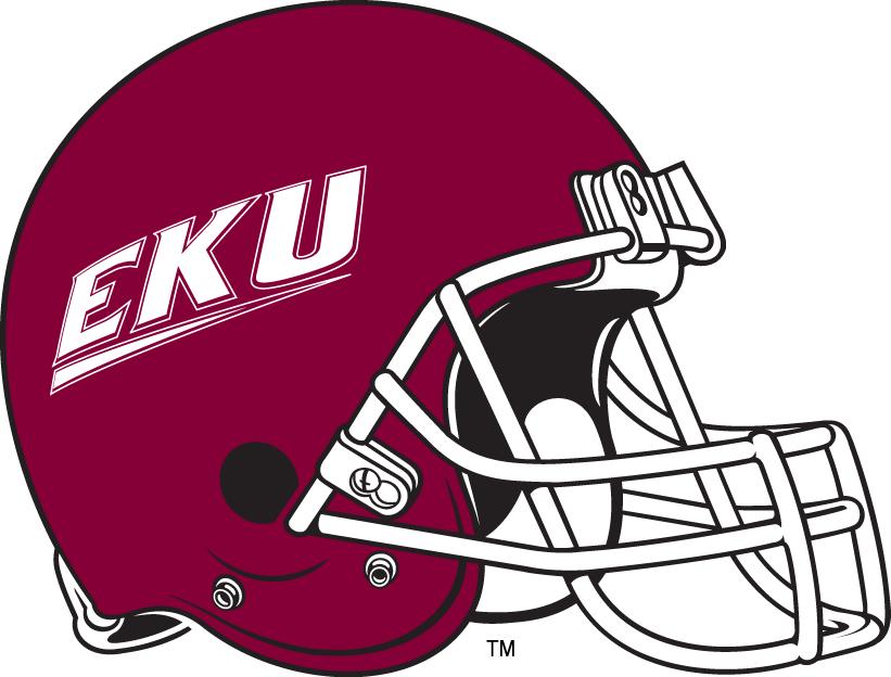 Eastern Kentucky Colonels Helmet Helmet (2004-Pres) -  SportsLogos.Net