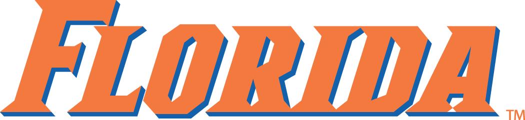 Florida Gators Logo Wordmark Logo (1998-2012) -  SportsLogos.Net