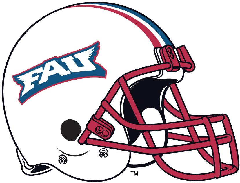 Florida Atlantic Owls Helmet Helmet (2005-2011) -  SportsLogos.Net