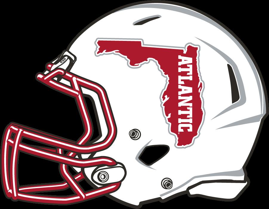 Florida Atlantic Owls Helmet Helmet (2015-2017) - White shell helmet with Florida logo SportsLogos.Net