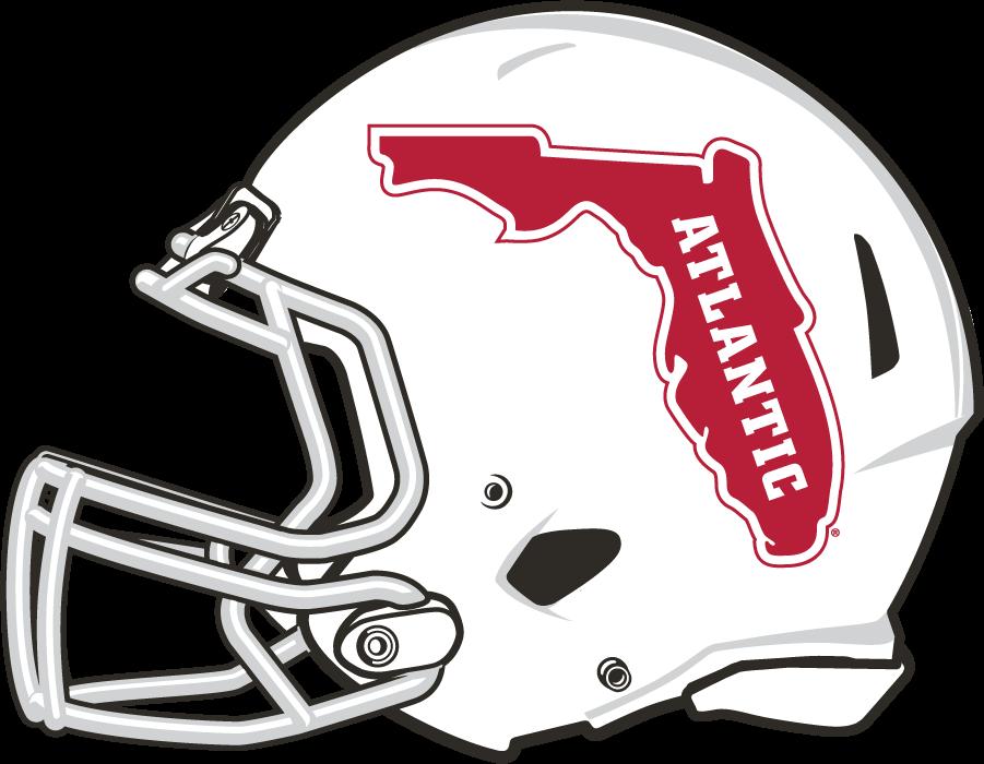 Florida Atlantic Owls Helmet Helmet (2017-Pres) - White shell helmet with Florida logo SportsLogos.Net