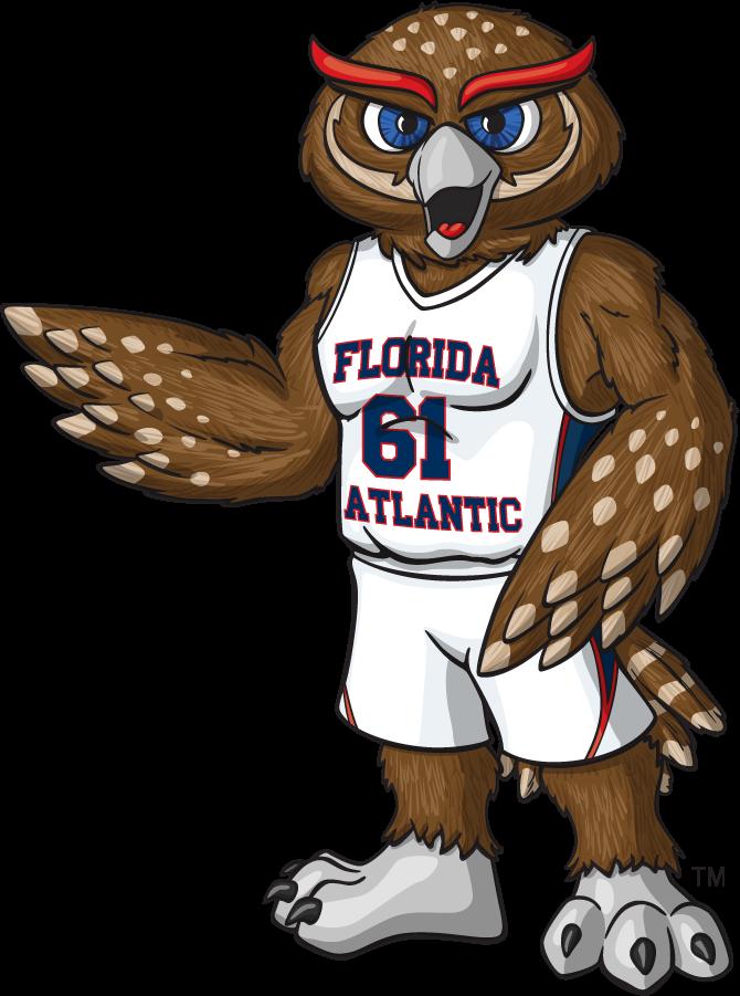 Florida Atlantic Owls Logo Mascot Logo (2014-2015) -  SportsLogos.Net
