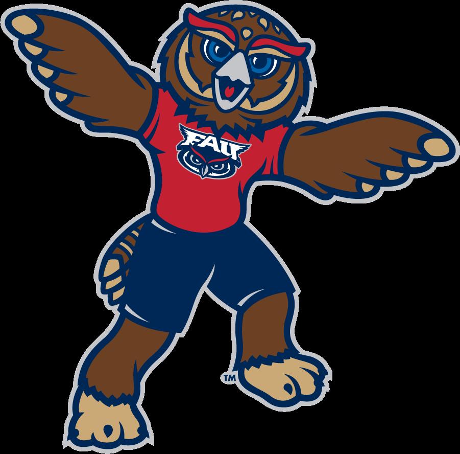 Florida Atlantic Owls Logo Mascot Logo (2015-Pres) -  SportsLogos.Net