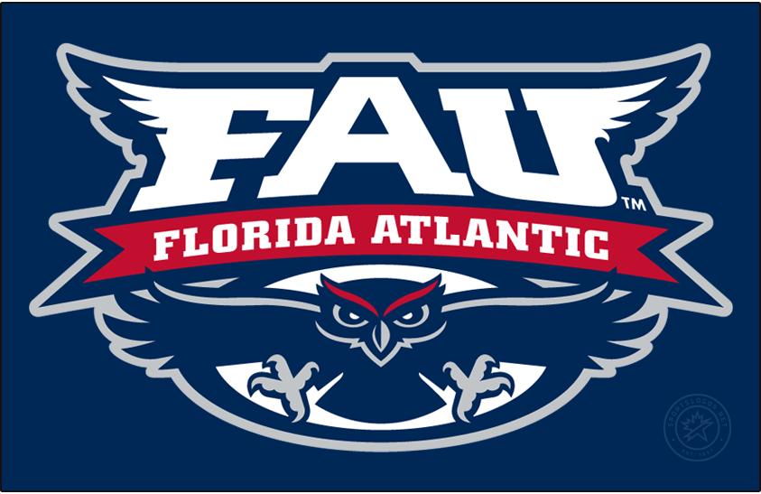 Florida Atlantic Owls Logo Primary Dark Logo (2005-2018) -  SportsLogos.Net
