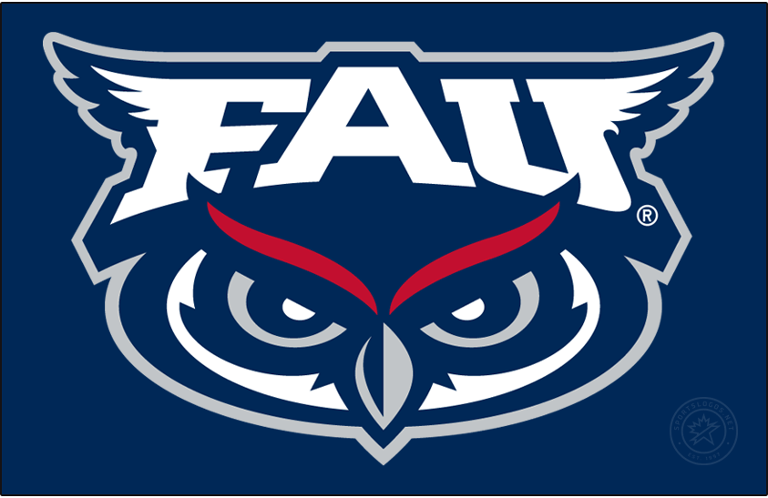 Florida Atlantic Owls Logo Primary Dark Logo (2018-Pres) -  SportsLogos.Net