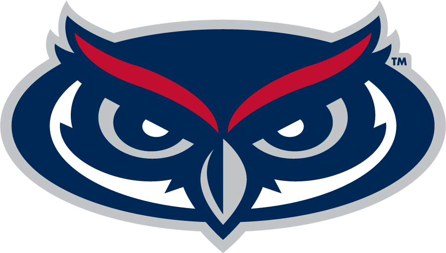 Florida Atlantic Owls Logo Secondary Logo (2005-Pres) - Owl head SportsLogos.Net