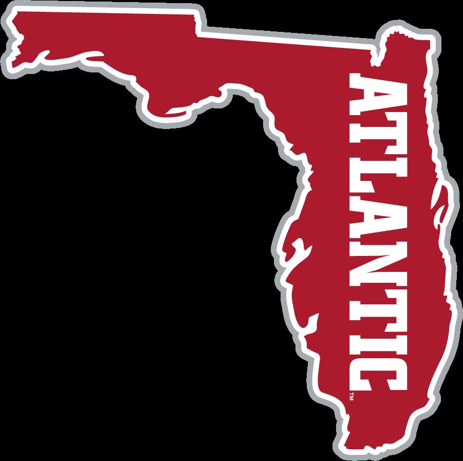 Florida Atlantic Owls Logo Secondary Logo (2015-2017) - Florida mark SportsLogos.Net