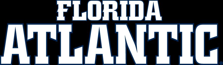 Florida Atlantic Owls Logo Wordmark Logo (2014-Pres) - Single-color Florida Atlantic wordmark. SportsLogos.Net