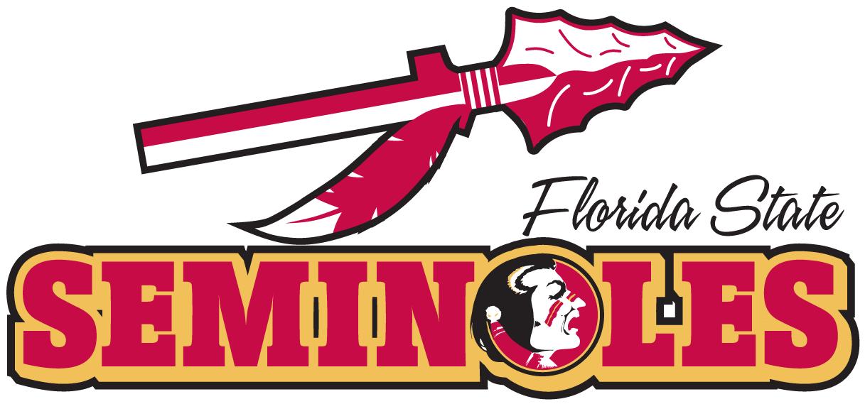 Florida State Seminoles Logo Wordmark Logo (1989-2013) -  SportsLogos.Net