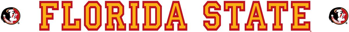 Florida State Seminoles Logo Wordmark Logo (1990-2013) -  SportsLogos.Net