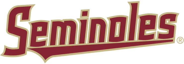 Florida State Seminoles Logo Wordmark Logo (2014-Pres) -  SportsLogos.Net