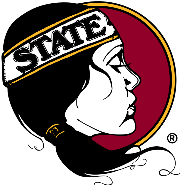 Florida State Seminoles Logo Alternate Logo (2000-Pres) - Florida State Lady Seminoles logo - The feminine counterpart logo to the Seminoles primary. Used to represent the female athletic division of the university. SportsLogos.Net