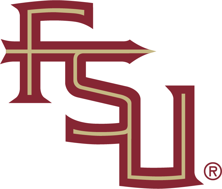 Florida State Seminoles Logo Alternate Logo (1992-Pres) - FSU diagnal SportsLogos.Net
