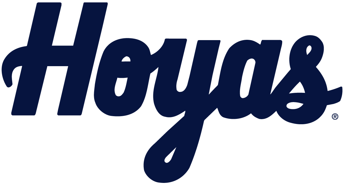 Georgetown Hoyas Logo Wordmark Logo (2000-Pres) -  SportsLogos.Net