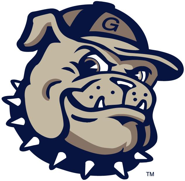 Georgetown Hoyas Logo Alternate Logo (2000-Pres) - Modernized bulldog head.   SportsLogos.Net