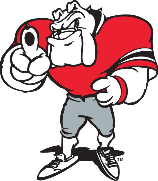 Georgia Bulldogs Logo Mascot Logo (1997-Pres) - Hairy Dawg mascot logo 1 SportsLogos.Net