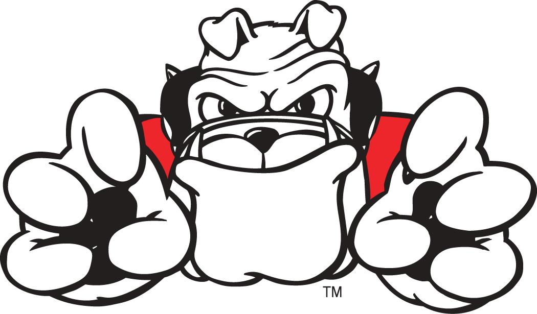 Georgia Bulldogs Logo Mascot Logo (1997-Pres) - Hairy Dawg mascot logo 2 SportsLogos.Net