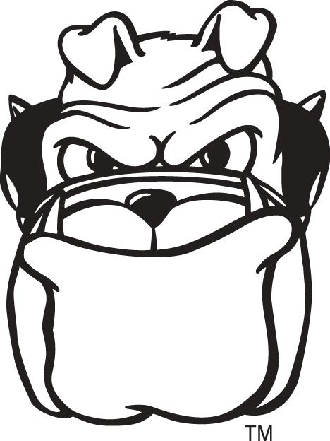 Georgia Bulldogs Logo Mascot Logo (1997-Pres) - Hairy Dawg mascot logo 4 SportsLogos.Net
