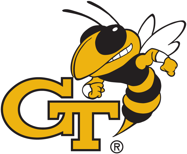 georgia tech yellow jackets secondary logo ncaa division i d h rh sportslogos net georgia tech logistics institute georgia tech logistics