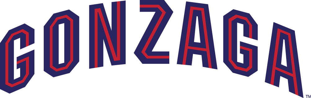 Gonzaga Bulldogs Logo Wordmark Logo (1998-Pres) -  SportsLogos.Net