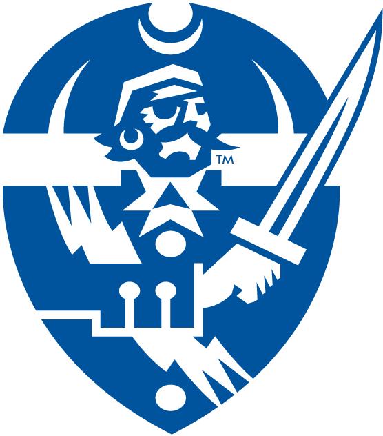 Hampton Pirates Logo Secondary Logo (2007-Pres) -  SportsLogos.Net