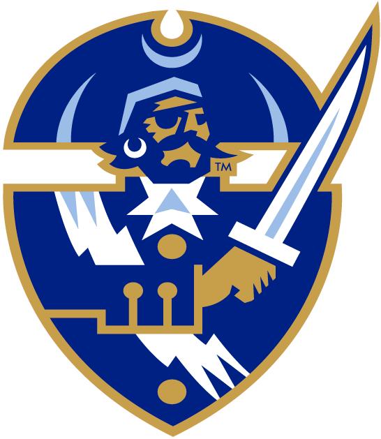 Hampton Pirates Logo Secondary Logo (2002-2006) -  SportsLogos.Net