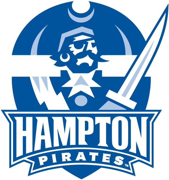 Hampton Pirates Logo Alternate Logo (2007-Pres) - 2 Colour version of the primary logo SportsLogos.Net