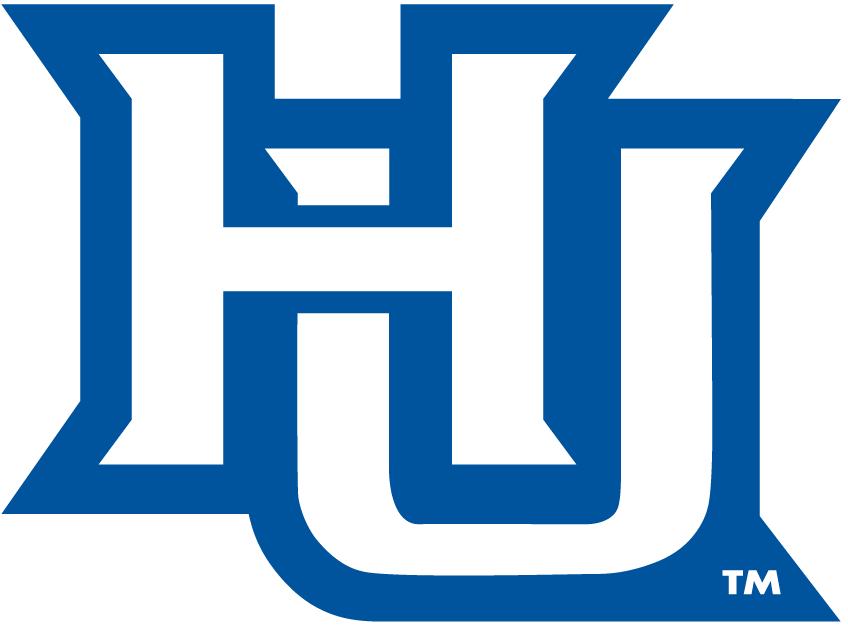 Hampton Pirates Logo Alternate Logo (2007-Pres) - Interlocking HU SportsLogos.Net
