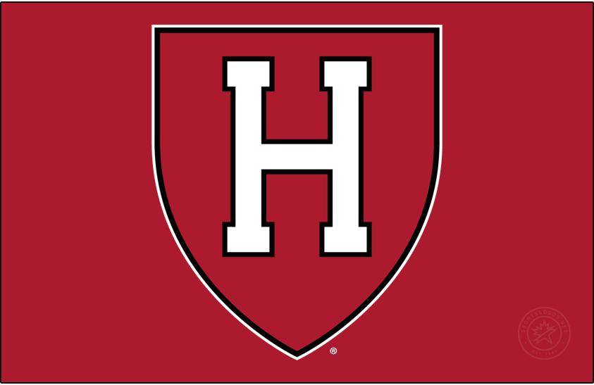 Harvard Crimson Logo Primary Dark Logo (2002-2020) - White H on a crimson shield. SportsLogos.Net