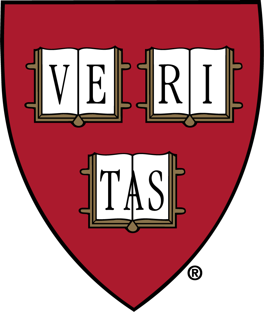 Harvard Crimson Logo Secondary Logo (1965-Pres) - Veritas Shield. Used in media guides since the 1960s alongside the Veritas Seal. The institutional shield is still used on football and ice hockey uniforms today. SportsLogos.Net