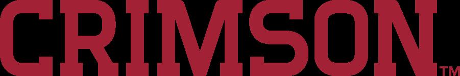 Harvard Crimson Logo Wordmark Logo (2020-Pres) - CRIMSON SportsLogos.Net