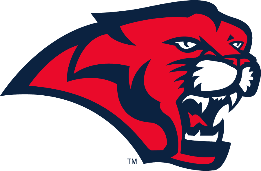 Houston Cougars Logo Secondary Logo (2003-2012) - Cougar head in red and navy. SportsLogos.Net