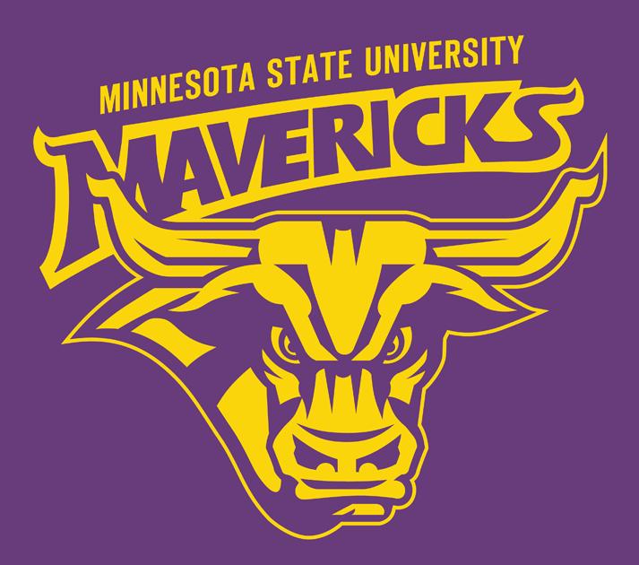 Minnesota State Mavericks Alternate Logo Ncaa Division I I M