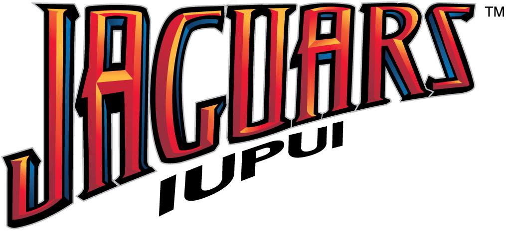 IUPUI Jaguars Logo Wordmark Logo (2008-Pres) -  SportsLogos.Net