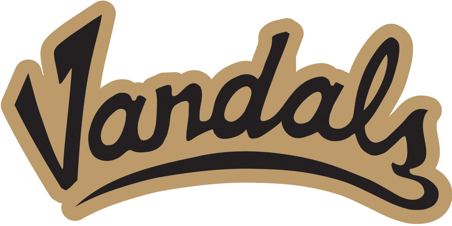 Idaho Vandals Logo Wordmark Logo (2008-2014) -  SportsLogos.Net